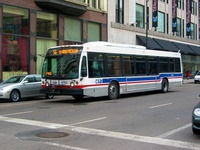 Bus #6762 at Washington and State, working route #56 Milwaukee, on February 22, 2004.