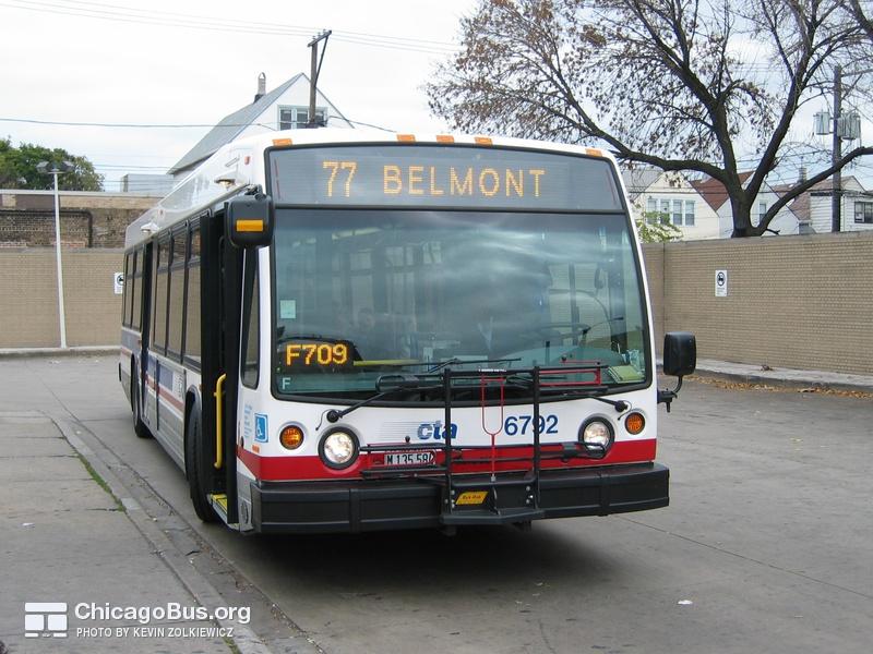 6400 Series Nova Bus Lfs Photo Chicagobus Org