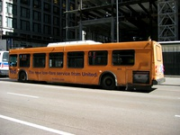 Bus #5815 at Dearborn and Madison on October  2, 2004.