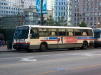 Bus #4529 at State and Washington, working route #36 Broadway, on February 26, 2004.