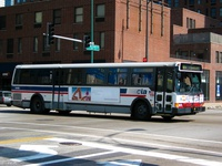 Bus #5408 at Grand and Orleans, working route #65 Grand, on June 18, 2005.