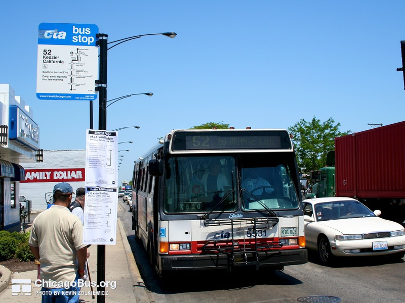 5300 Series Flxible Metro B Photo Chicagobus Org
