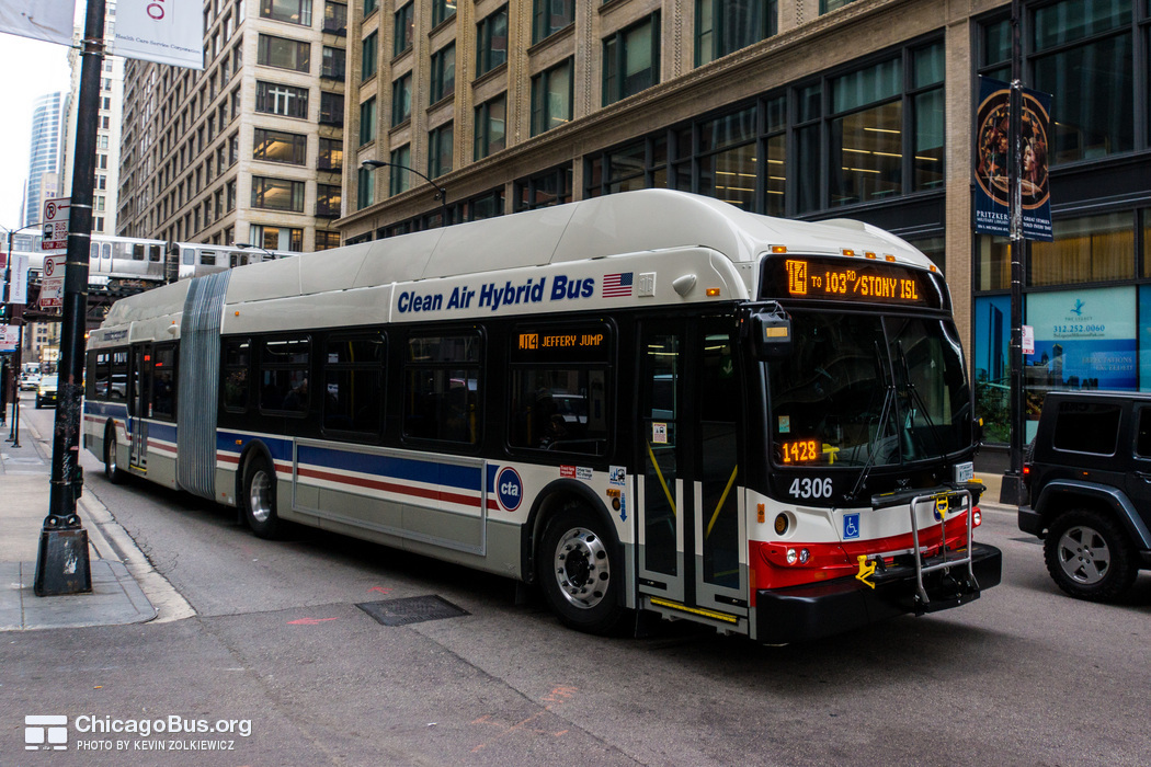 CTA's Newest Buses Hit The Streets