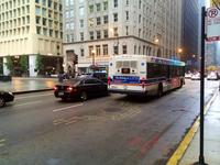 Bus #1392 at Clark and Washington, working route #22 Clark, on October 13, 2014.