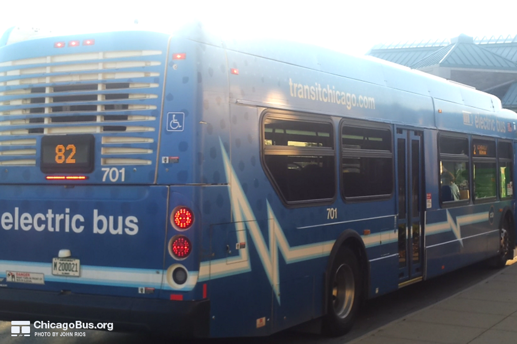 700-series New Flyer XE40 Photo - ChicagoBus org